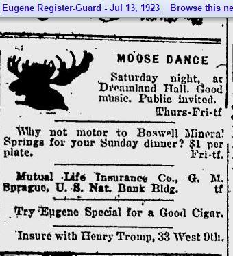 Dreamland Hall at Moose Lodge