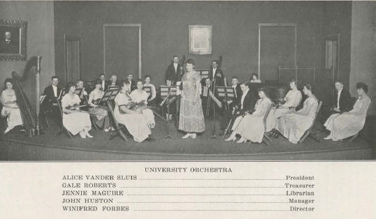 UO Orchestra 1916-17