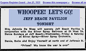Jefferson Beach Dance Hall
