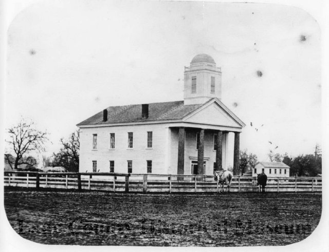 Lane County Courthouse, c1870