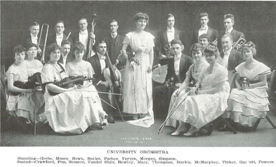 UO Orchestra 1915-1916