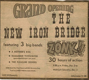new iron bridge