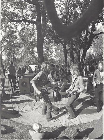 The Hotz at Skinner Butte Park 1972