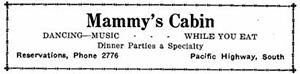 Mammy's Cabin